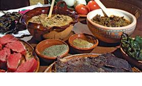 gastronomia carne seca Durango